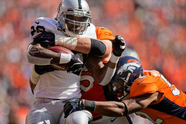 Is the Blocking to Blame for Darren McFadden's Struggles?