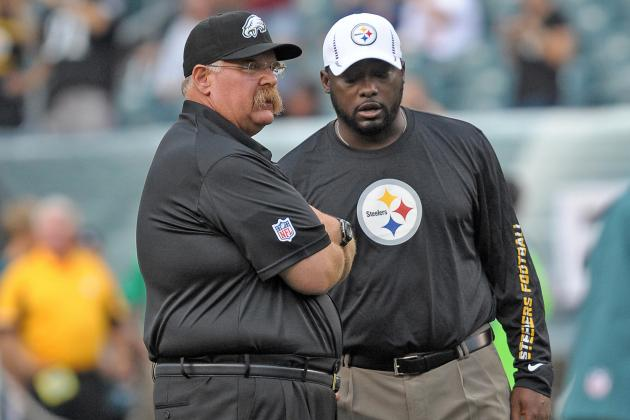 Andy Reid vs. Mike Tomlin: Which Coach Is Under Most Pressure to Make Playoffs?