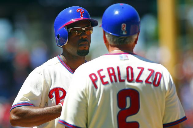 Phillies Let Go of First Base Coach Perlozzo