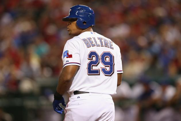 Adrian Beltre Is AL Player of the Month for Second Consecutive September