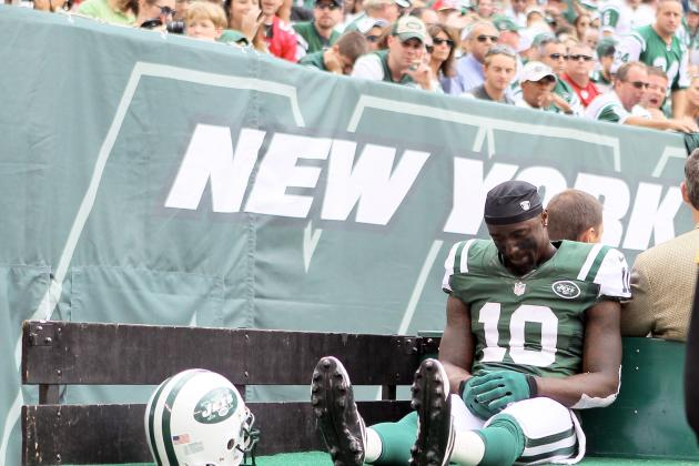Santonio Holmes' Injury Downgrades Fantasy Value of Entire Jets Offense