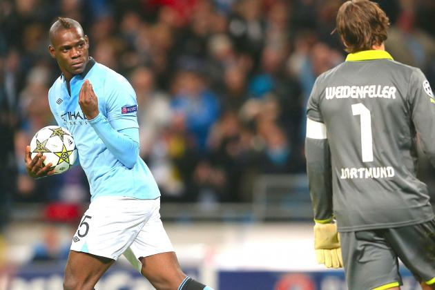 Mario Balotelli Gives Manchester City a Group of Death Lifeline Against Dortmund
