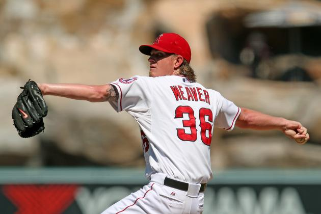 Jered Weaver and David Price Finish Season Tied for AL Lead in Wins