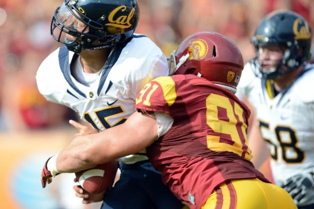 USC Defensive End Morgan Breslin's Play Does the Talking