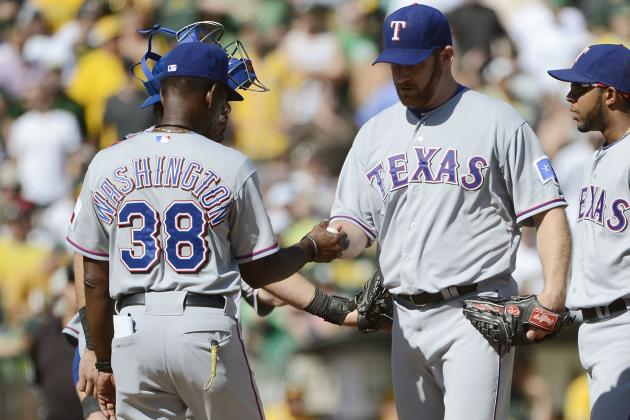 Rapid Reaction: A's 12, Rangers 5