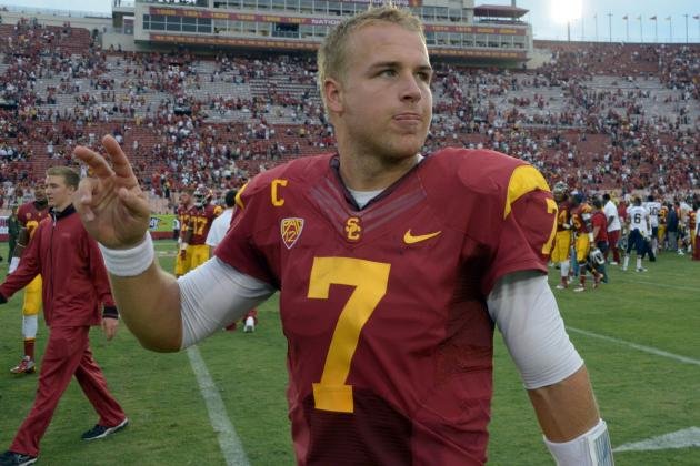 USC vs. Utah: Matt Barkley Will Get Back on Track vs. Utes