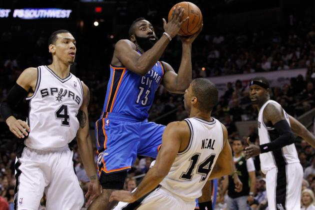 Thunder Players Pleased with NBA's New 'flopper' Rule