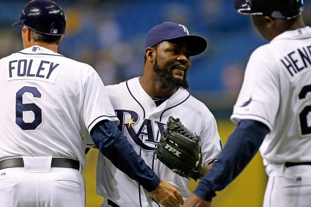 Tampa Bay Rays Closer Rodney Named Team's MVP for 2012