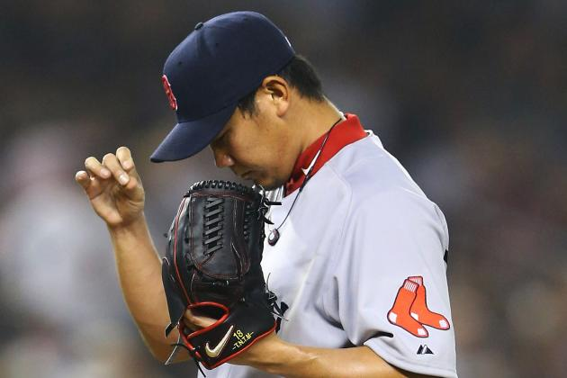 Daisuke Matsuzaka Sets Record for Worst ERA by Red Sox Starter