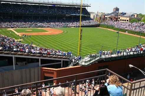 Cubs Want to Move Brick Wall to Add Seats