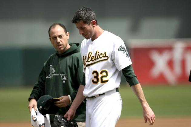 Brandon McCarthy Injury: Latest Updates on A's Pitcher's Postseason Status