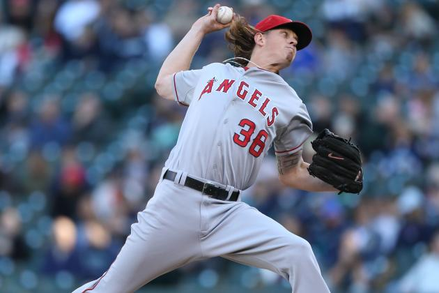 Jered Weaver Makes Early Exit from Finale with Fatigue