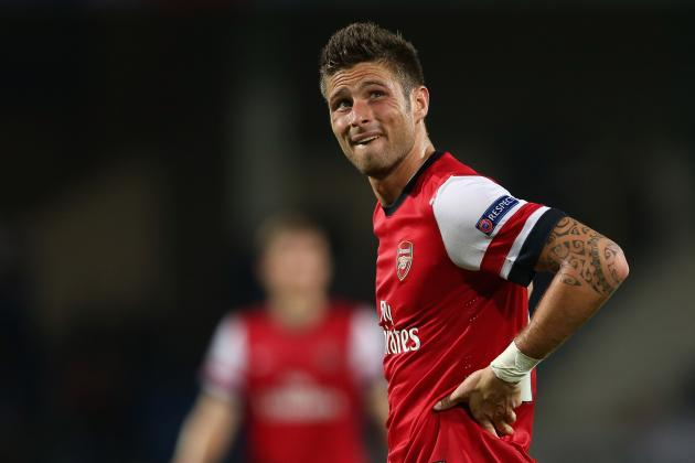 Is Olivier Giroud Heading for the Marouane Chamakh Treatment at Arsenal?
