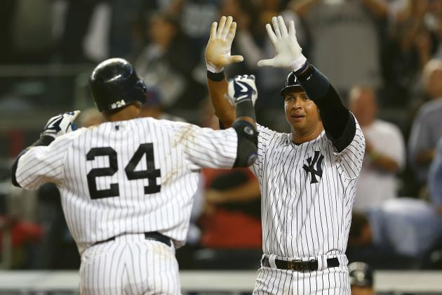 Yankees vs Red Sox: Bombers Roll 14-2; Win 2012 A.L. East Division Title