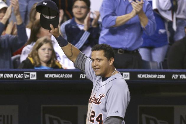 Detroit Tigers Miguel Cabrera Officially Wins American League Triple Crown