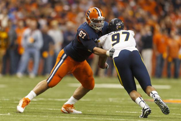 Orange's All-Big East Lineman Set to Return