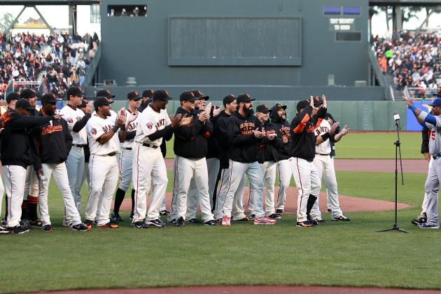 SF Giants: Breaking Down How the 2012 Team Is Different from 2010