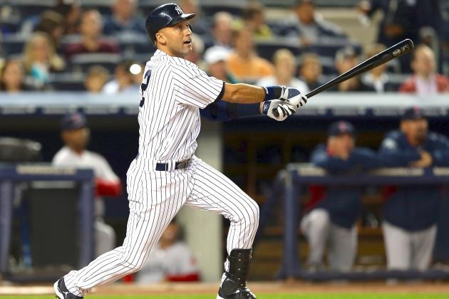 Derek Jeter: Ageless Wonder Finishes 2012 Season with Most Hits in Baseball