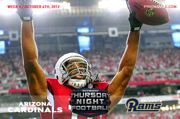 Fantasy Football Week 5: Arizona Cardinals vs. St. Louis Rams