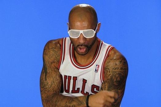 Awkward NBA Media Day Pics