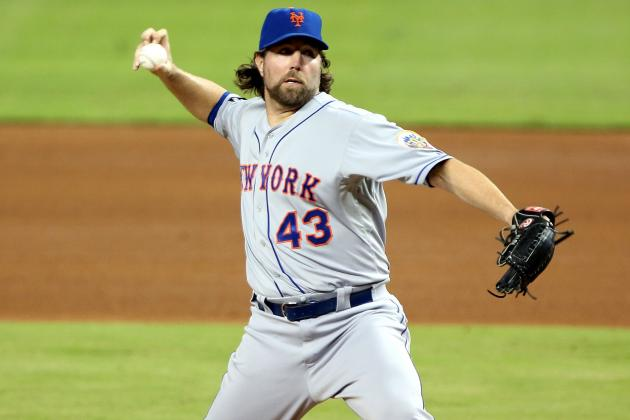 Dickey Edged for ERA Title