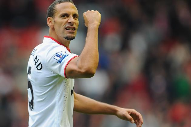 Rio Ferdinand Again out of England Squad as Ryan Shawcross Gets Call