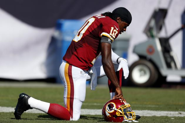 Robert Griffin III: Is RGIII the Best Quarterback in the NFC East?