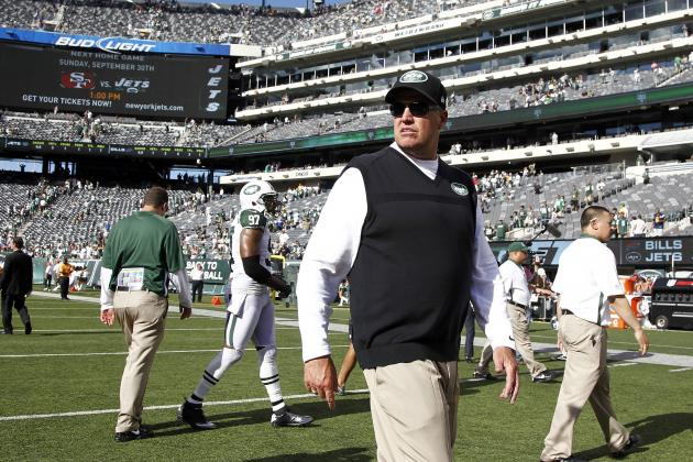 New York Jets HC Rex Ryan Says His Team Didn't Quit, and Other AFC East News