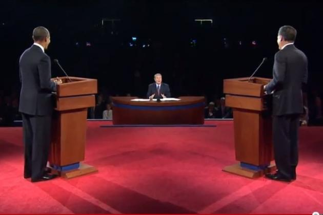 Imagining a Presidential Debate If Obama & Romney Answered Only Sports Questions