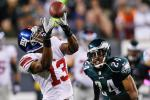 Giants' WR Barden Diagnosed with Concussion
