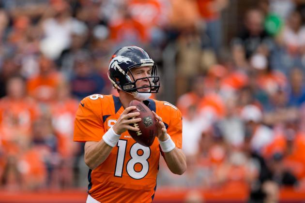 Peyton Manning: Broncos QB Has Great Fantasy Matchup vs. Patriots Pass Defense