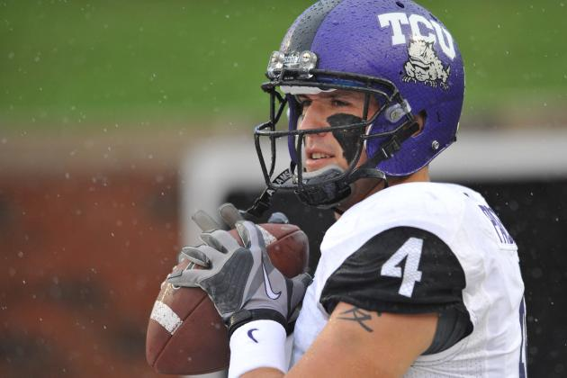 Report: TCU Quarterback Casey Pachall Arrested for DWI