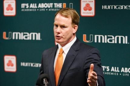 Miami AD Shawn Eichorst Reportedly Resigns, Expected to Take Job at Nebraska
