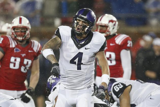 Report: TCU Starting QB Casey Pachall Arrested for DWI