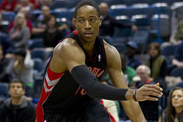 Raptors Allow DeMar DeRozan to Determine His Own Value