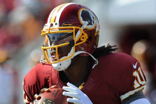 Robert Griffin III Is the NFL Offensive Rookie of the Month