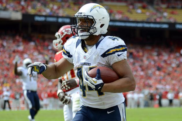 Ryan Mathews: Chargers are Wasting Time Starting Jackie Battle over Franchise RB