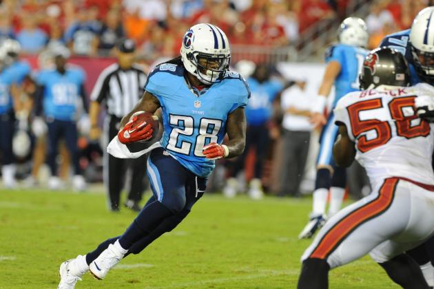 Chris Johnson: Fantasy Owners Must Bench Titans RB vs. Vikings