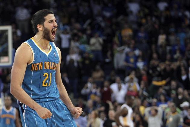 Hornets Guard Greivis Vasquez Pleased About New NBA Anti-Flopping Rule