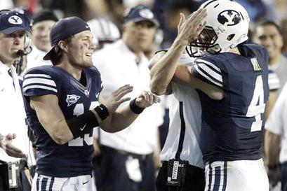 BYU Football: Will Nelson or Hill Start Against USU Friday?