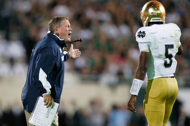 Notre Dame Football: Why Everett Golson Must Remain as Starting QB for Irish