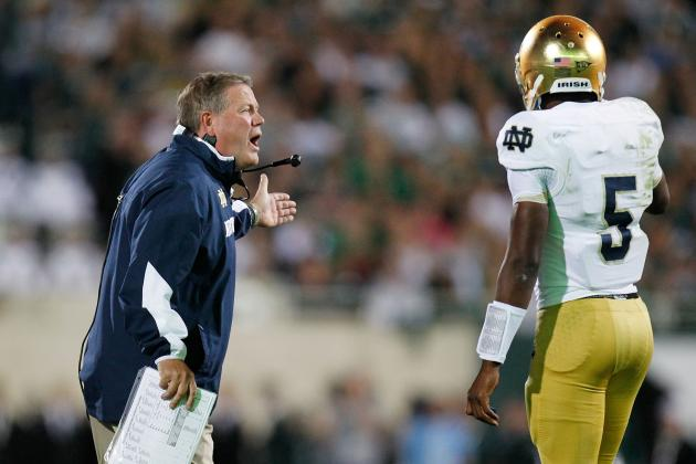 Time for Brian Kelly to Can Notre Dame's Quarterback Carousel