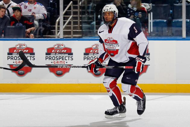 Custance: Prospect Seth Jones Is Ready for Spotlight
