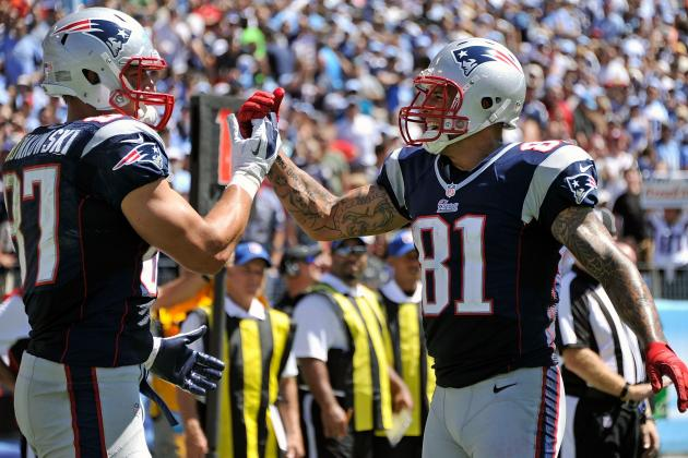 Aaron Hernandez and Rob Gronkowski Return to Practice