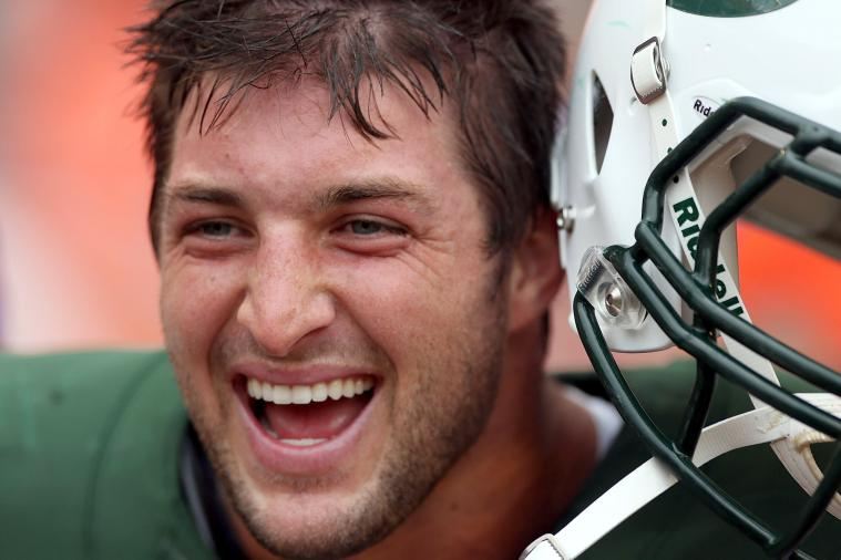 Tim Tebow: Jets Owner Would Be Foolish to Push for Tebow to Start