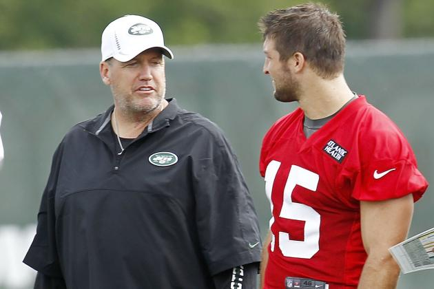 Rex: I Dont Think Tebow Is Upset