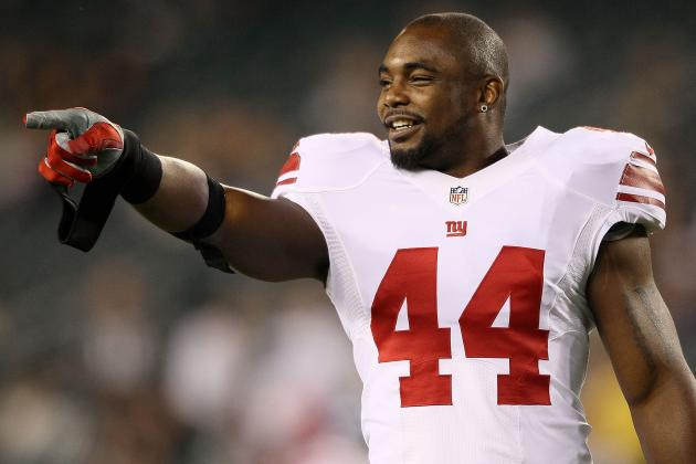 Ahmad Bradshaw: Why You Should Avoid Starting Oft-Injured Giants RB vs. Browns
