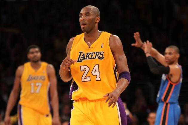 Reducing Kobe Bryant's Minutes Will Lead to Career Rebirth for L.A. Lakers Star