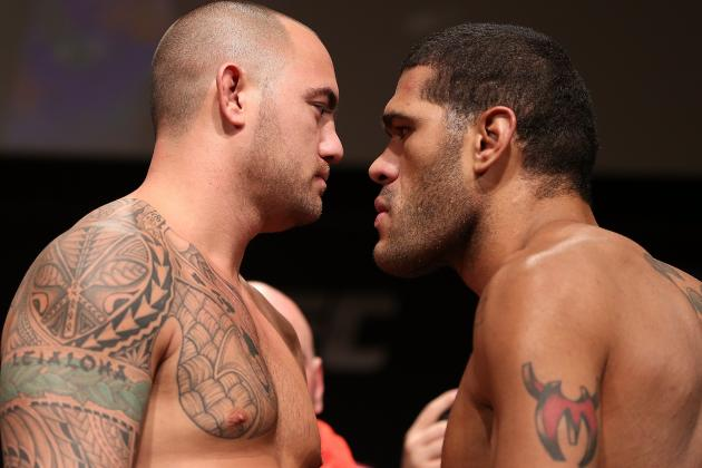 UFC on FX 5: Weigh-in Results for Travis Browne vs. Antonio Silva Fight Card