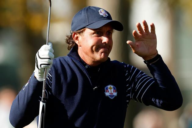 Phil Mickelson to Attempt $1 Million Shot for Charity on Monday Night Football